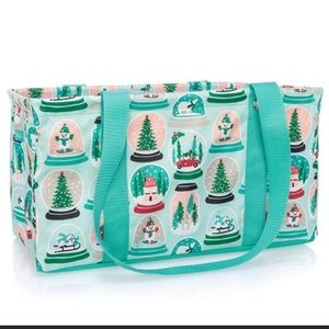 Medium Utility Tote-Snow Globe Shake-Up